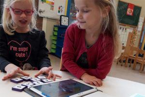 Digitale leermiddelen kleutergroep